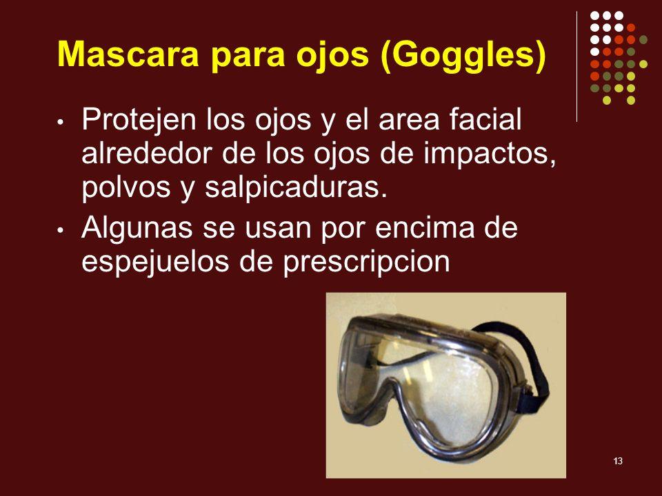 Mascara para ojos (Goggles)