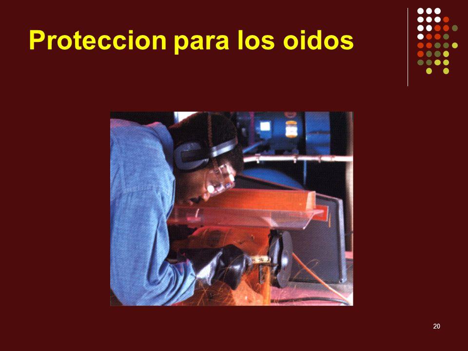Proteccion para los oidos