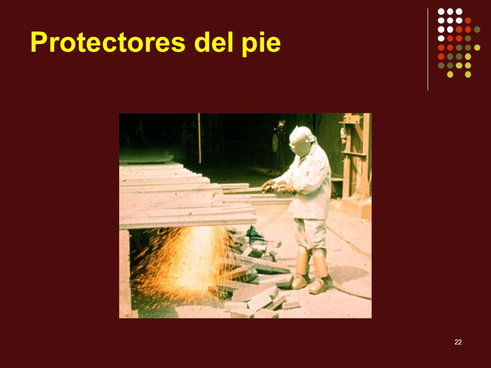 Protectores del pie 1910.136.