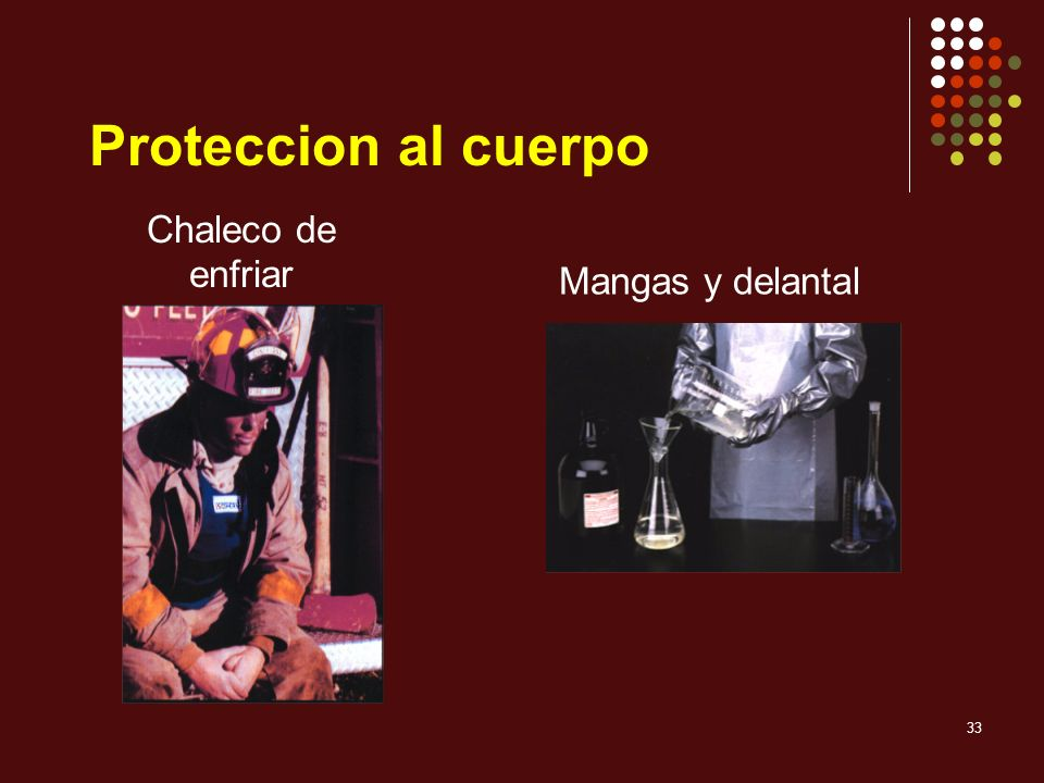 Proteccion al cuerpo Chaleco de enfriar Mangas y delantal