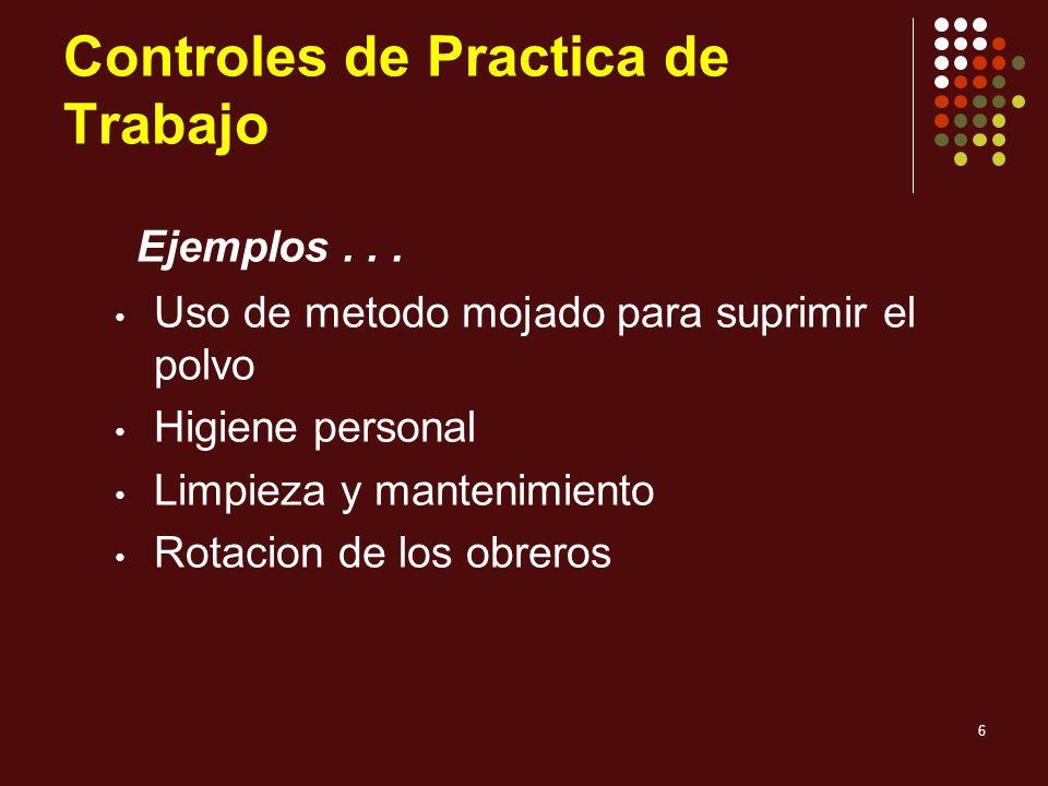 Controles de Practica de Trabajo