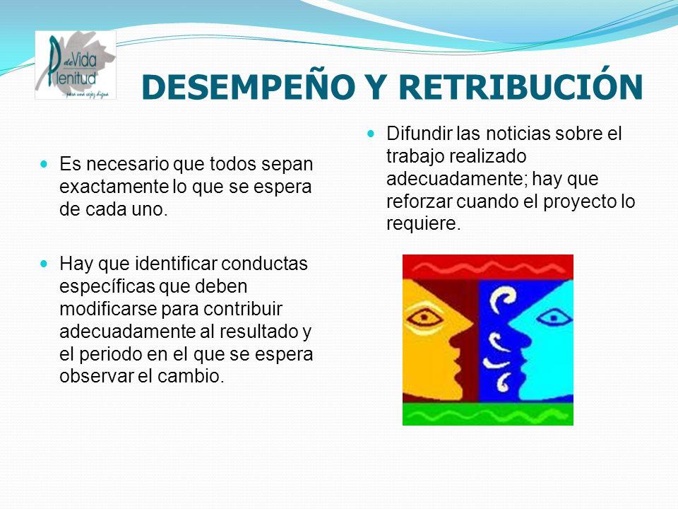 DESEMPEÑO Y RETRIBUCIÓN