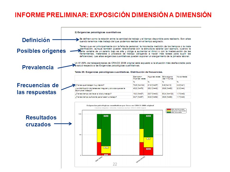 INFORME PRELIMINAR: EXPOSICIÓN DIMENSIÓN A DIMENSIÓN