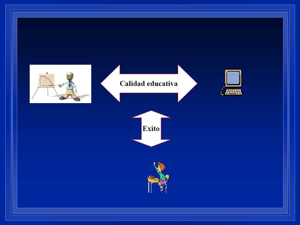 Calidad educativa Exito
