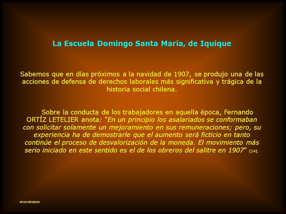 La Escuela Domingo Santa María, de Iquique