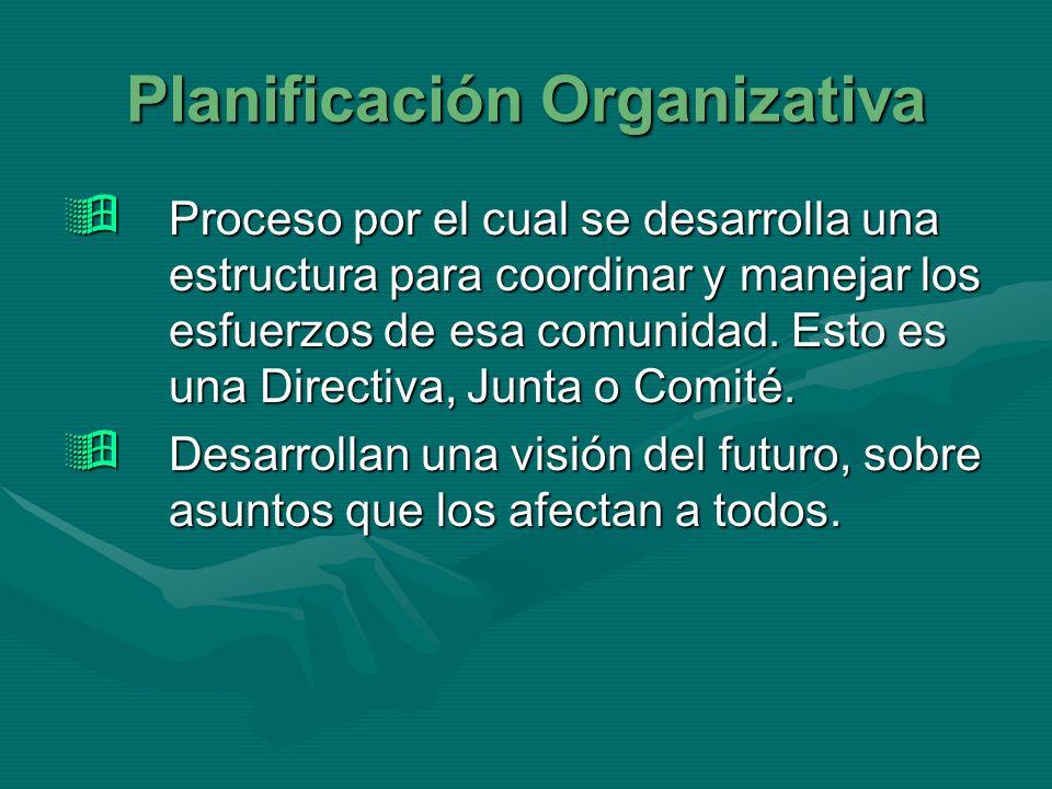 Planificación Organizativa