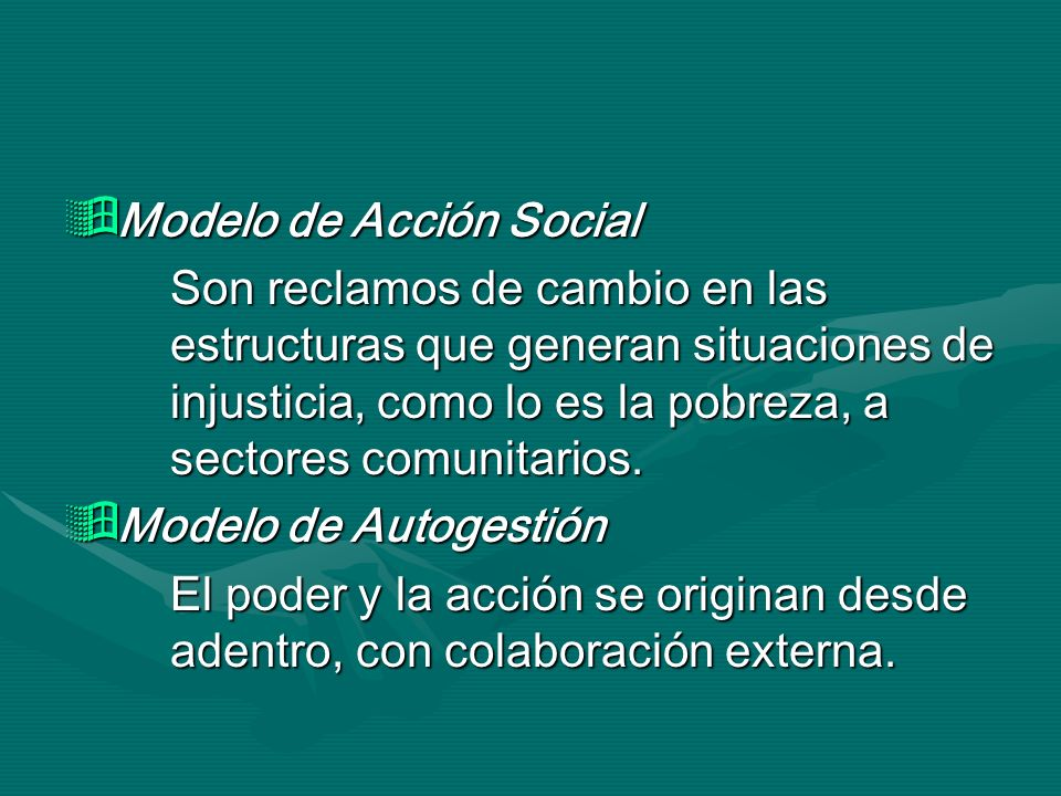 Modelo de Acción Social