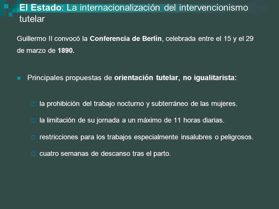 El Estado: La internacionalización del intervencionismo tutelar