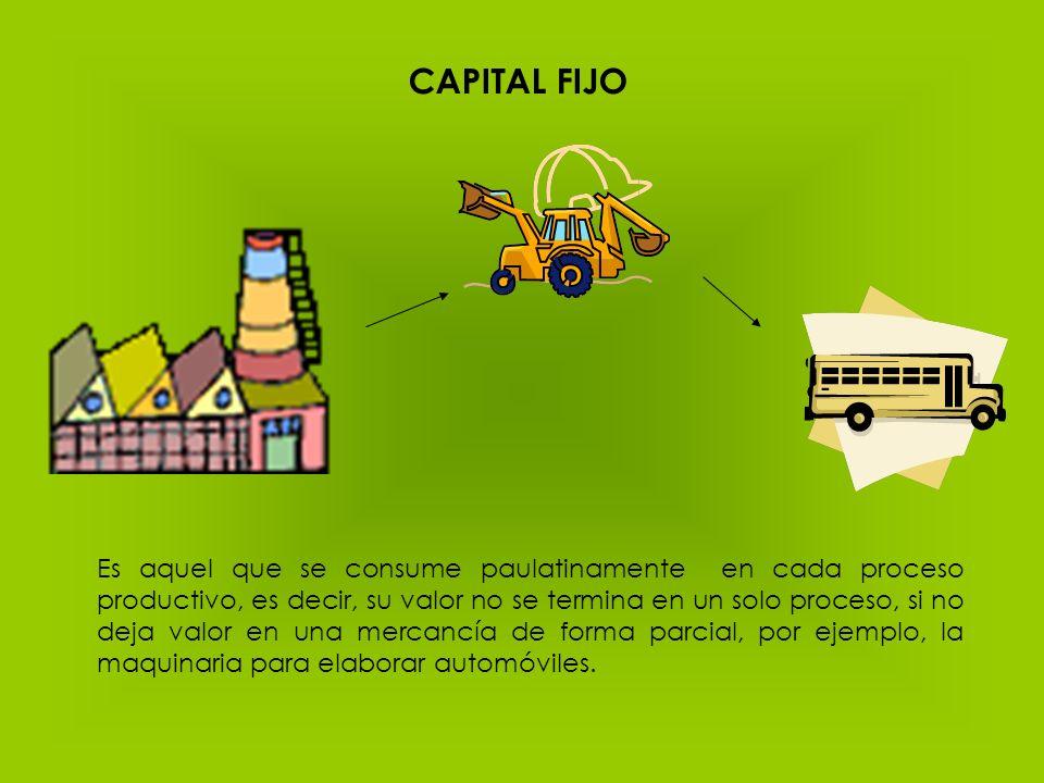 CAPITAL FIJO