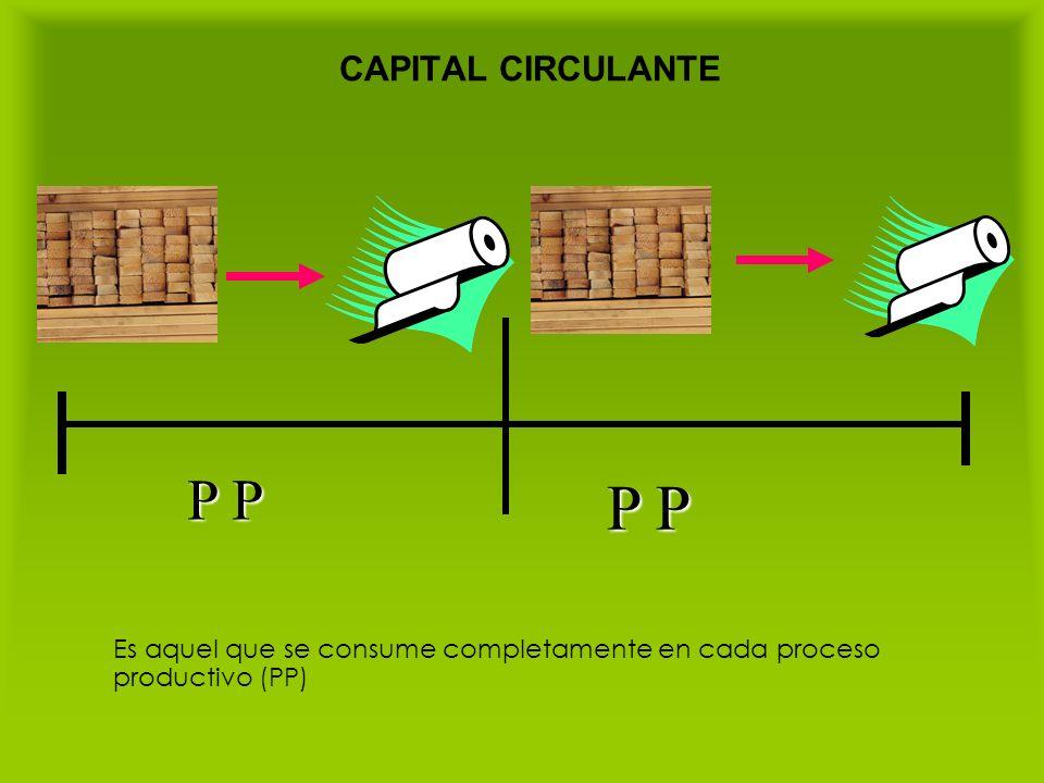 P P P P CAPITAL CIRCULANTE