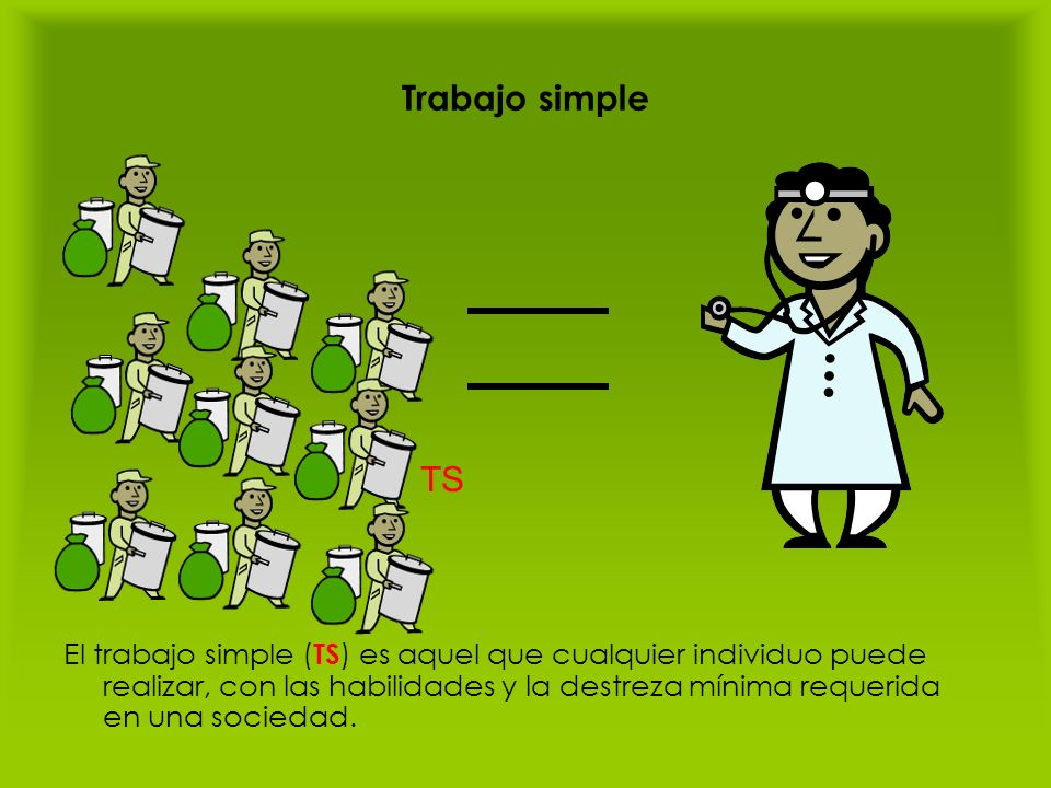 Trabajo simple TS.