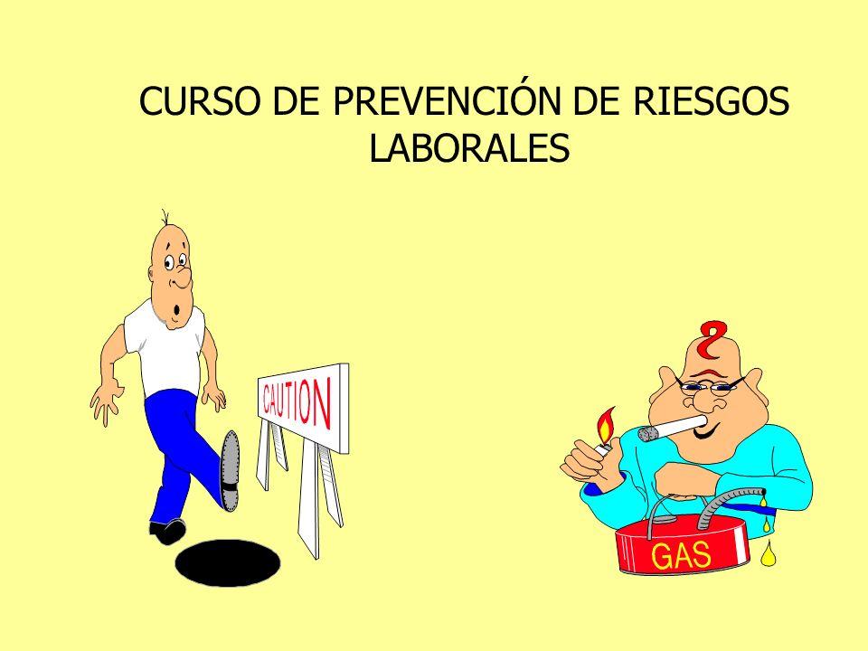 CURSO DE PREVENCIÓN DE RIESGOS