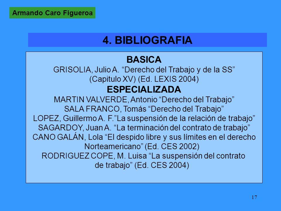 4. BIBLIOGRAFIA BASICA ESPECIALIZADA