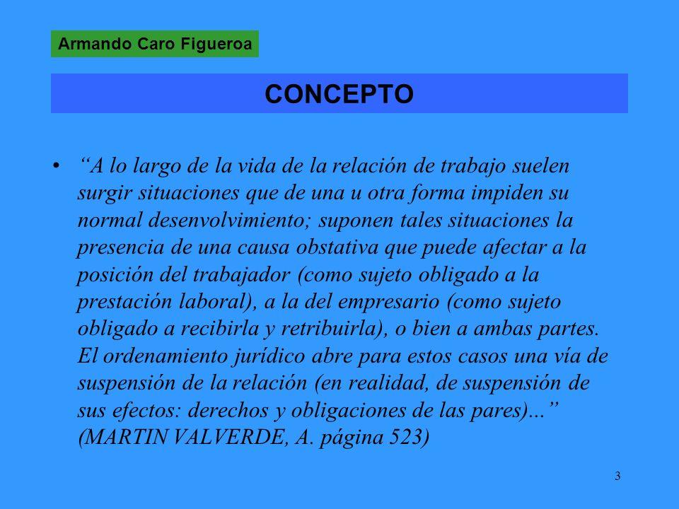 Armando Caro Figueroa CONCEPTO.