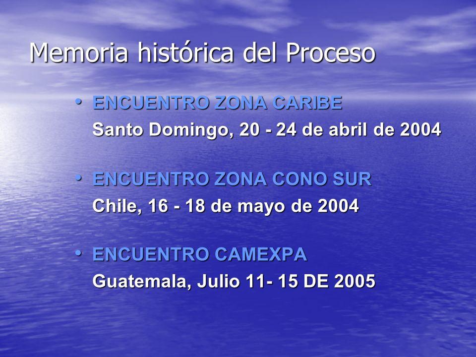 Memoria histórica del Proceso