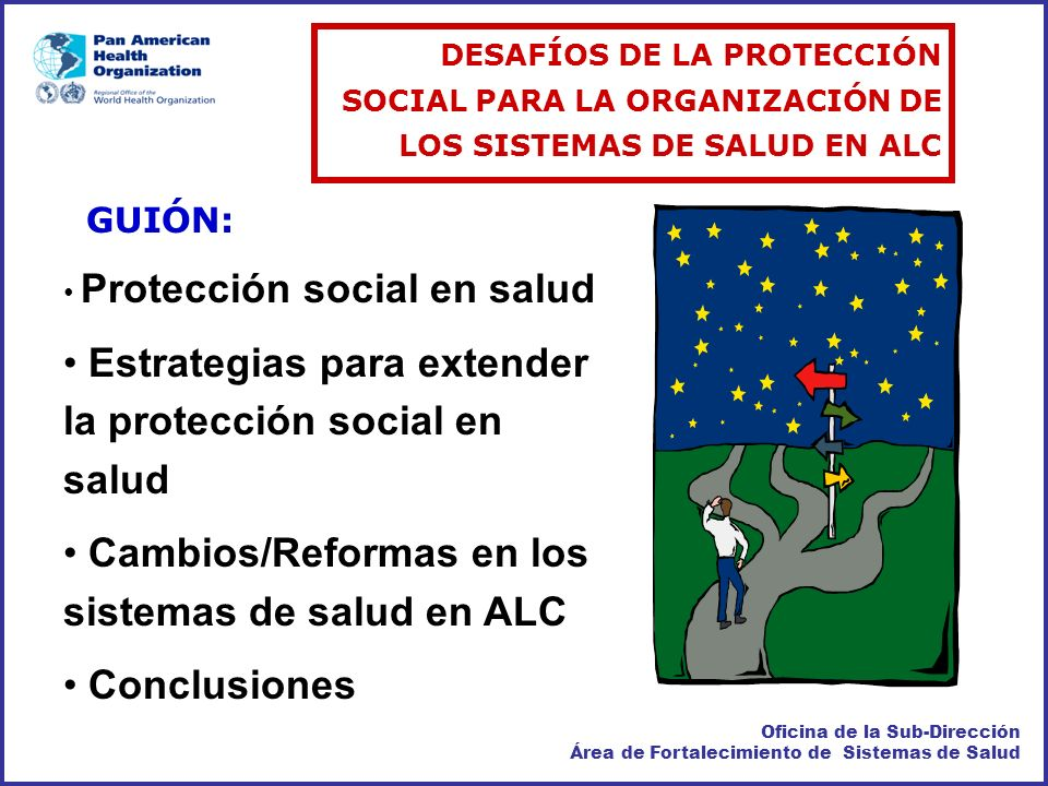 Estrategias para extender la protección social en salud