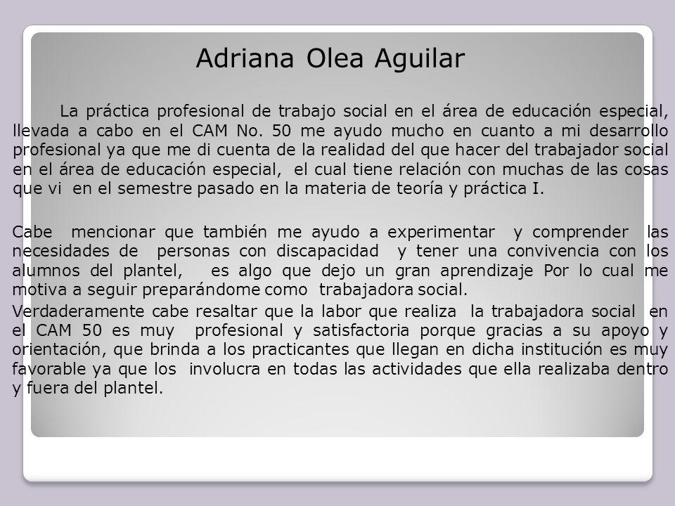 Adriana Olea Aguilar
