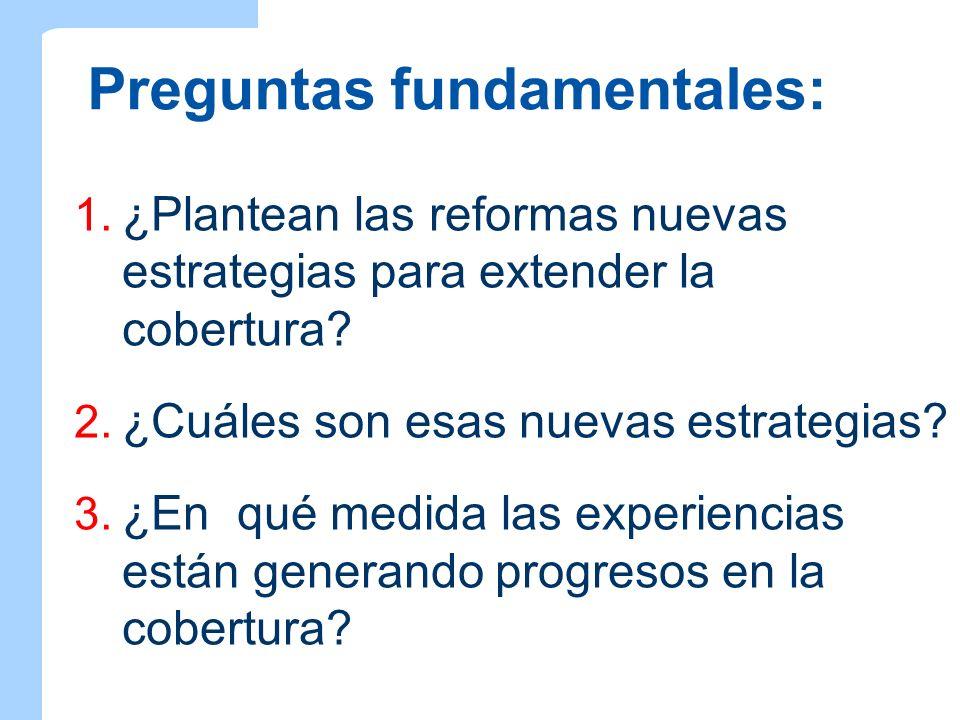 Preguntas fundamentales: