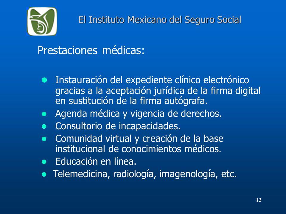 El Instituto Mexicano del Seguro Social