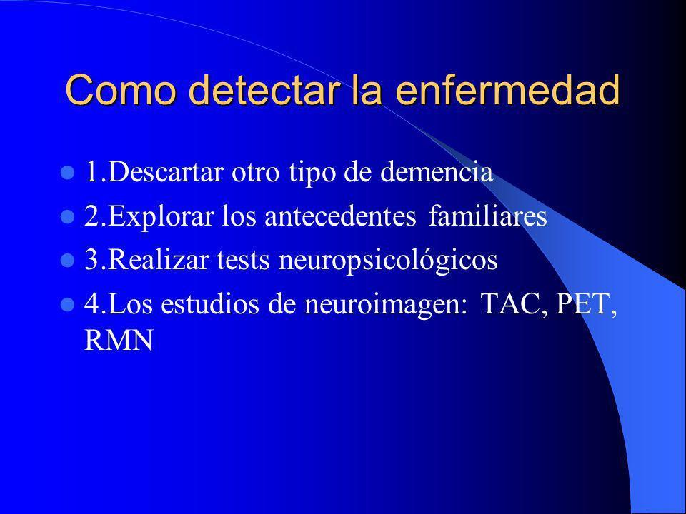Como detectar la enfermedad