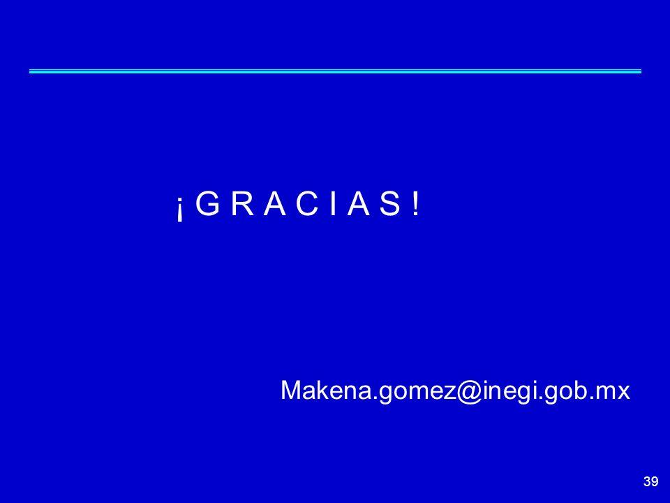 ¡ G R A C I A S ! Makena.gomez@inegi.gob.mx