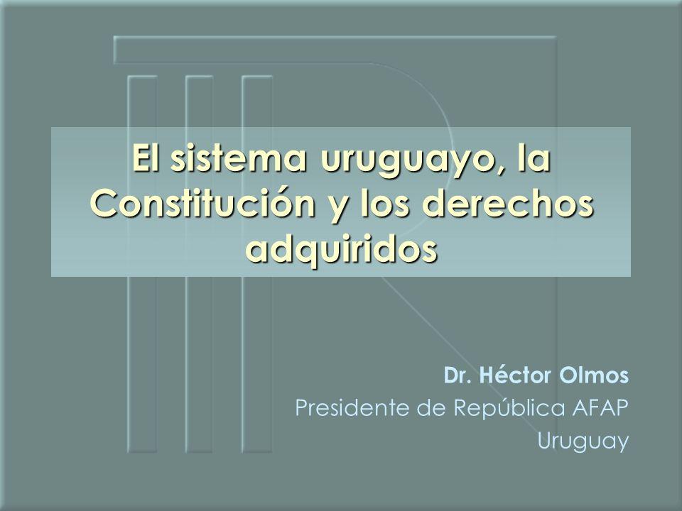 Dr. Héctor Olmos Presidente de República AFAP Uruguay