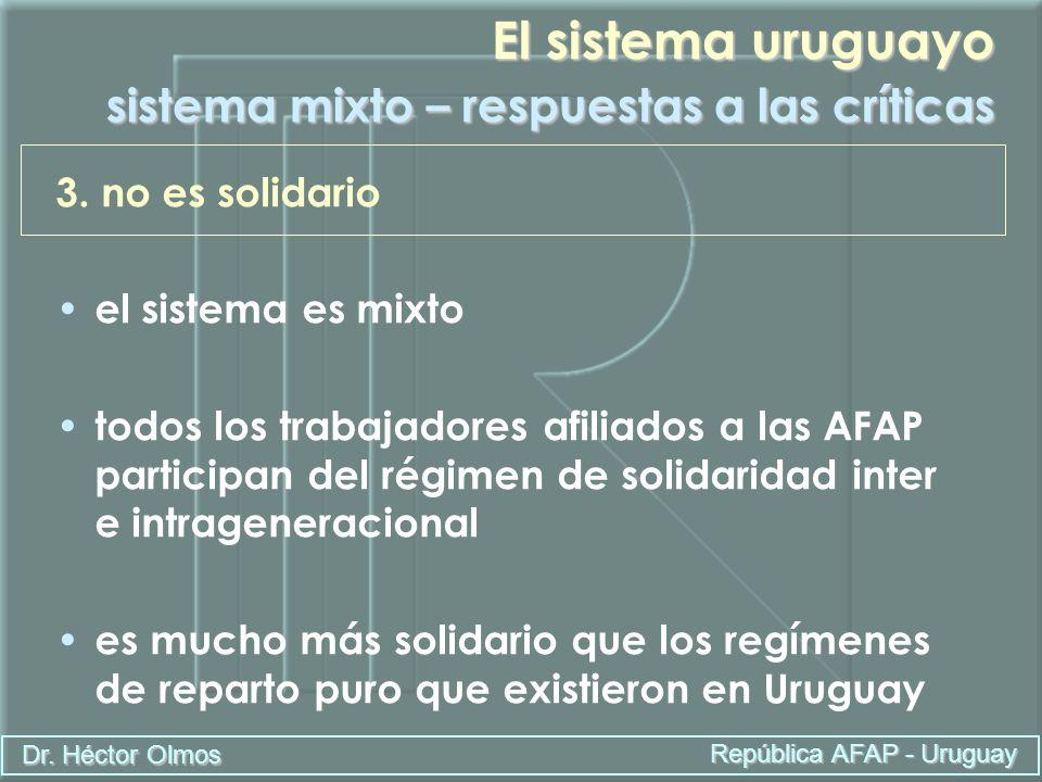El sistema uruguayo sistema mixto – respuestas a las críticas