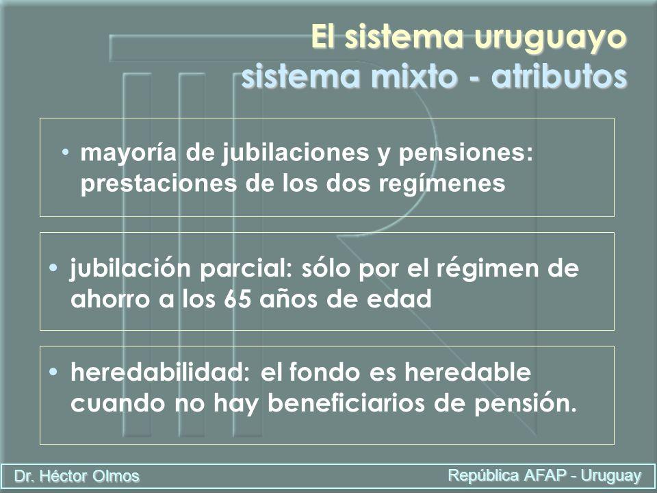 El sistema uruguayo sistema mixto - atributos