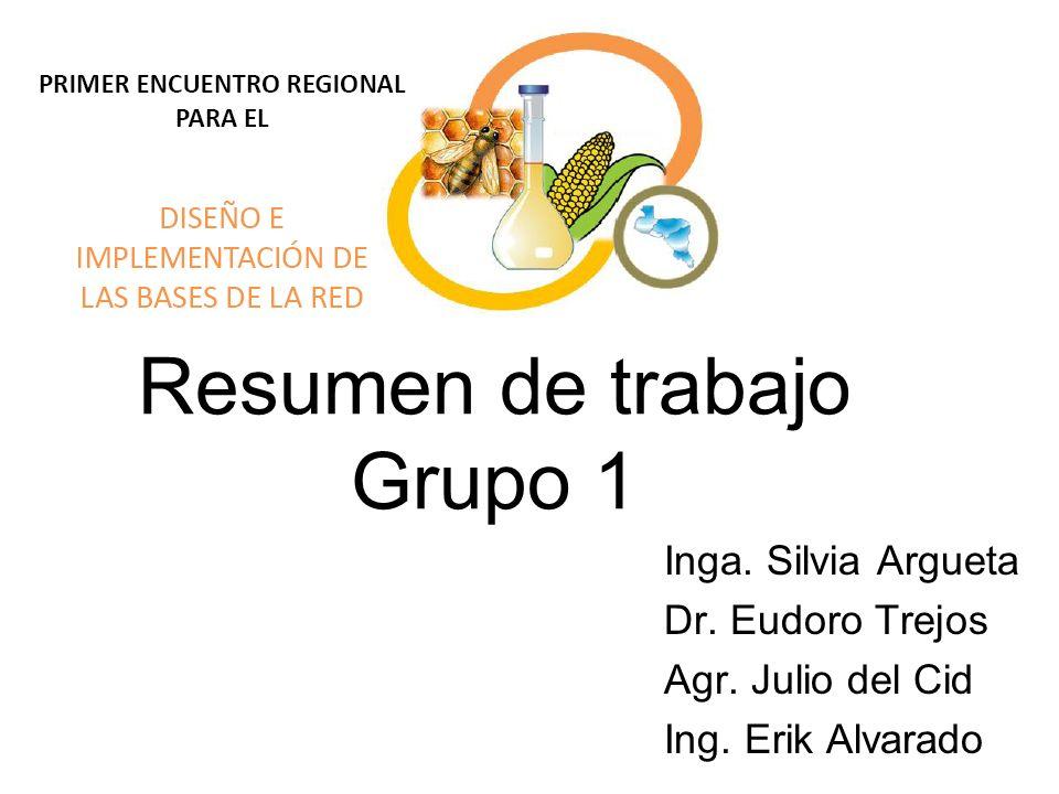 Resumen de trabajo Grupo 1
