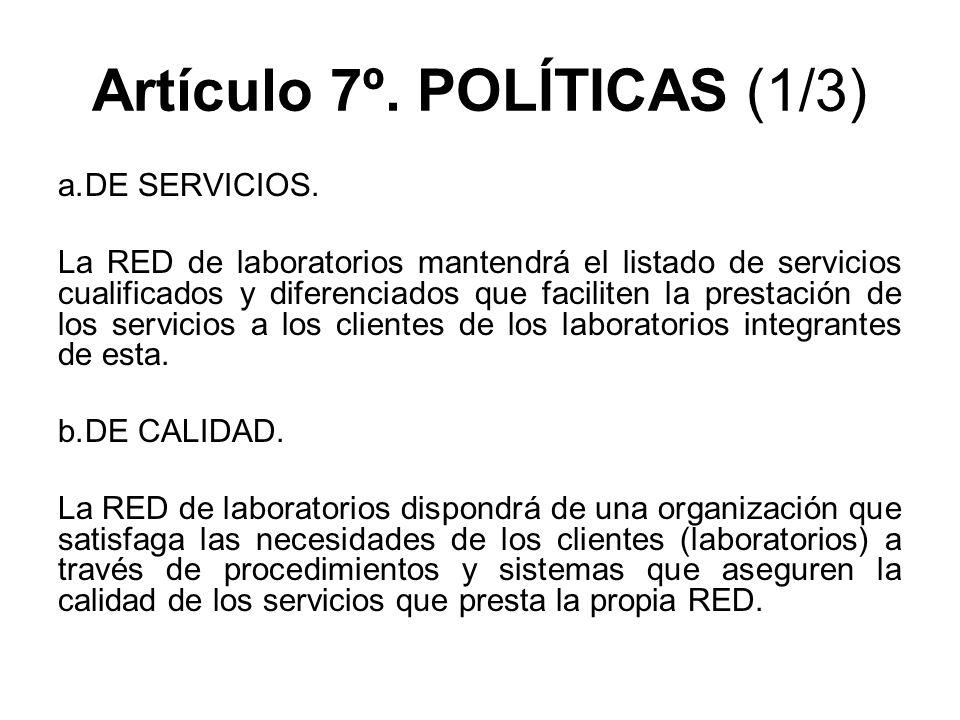 Artículo 7º. POLÍTICAS (1/3)