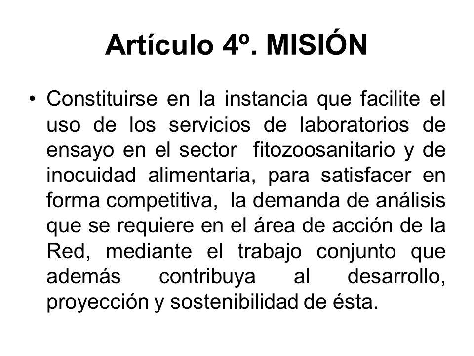 Artículo 4º. MISIÓN