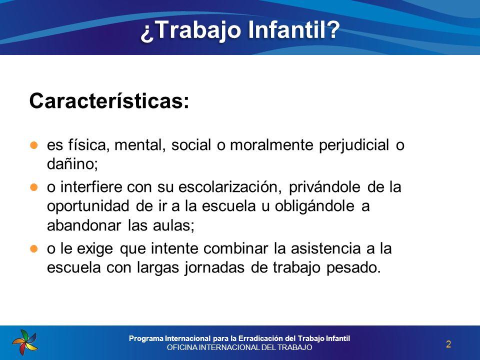 Programa Internacional para la Erradicación del Trabajo Infantil