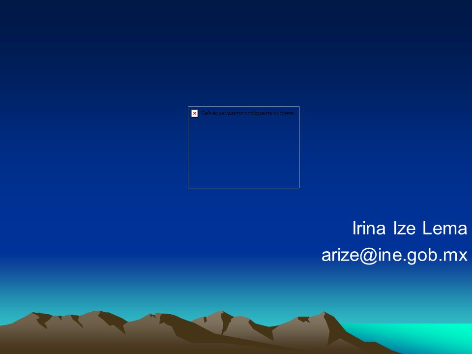 Irina Ize Lema arize@ine.gob.mx