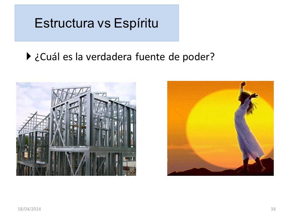 Estructura vs Espíritu