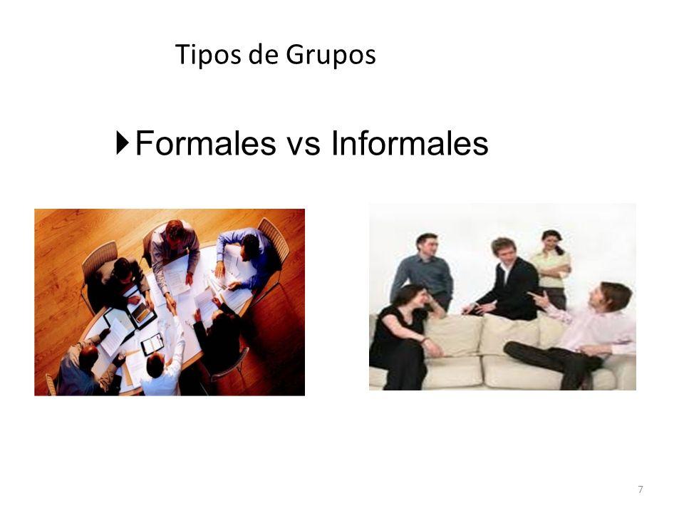 Formales vs Informales