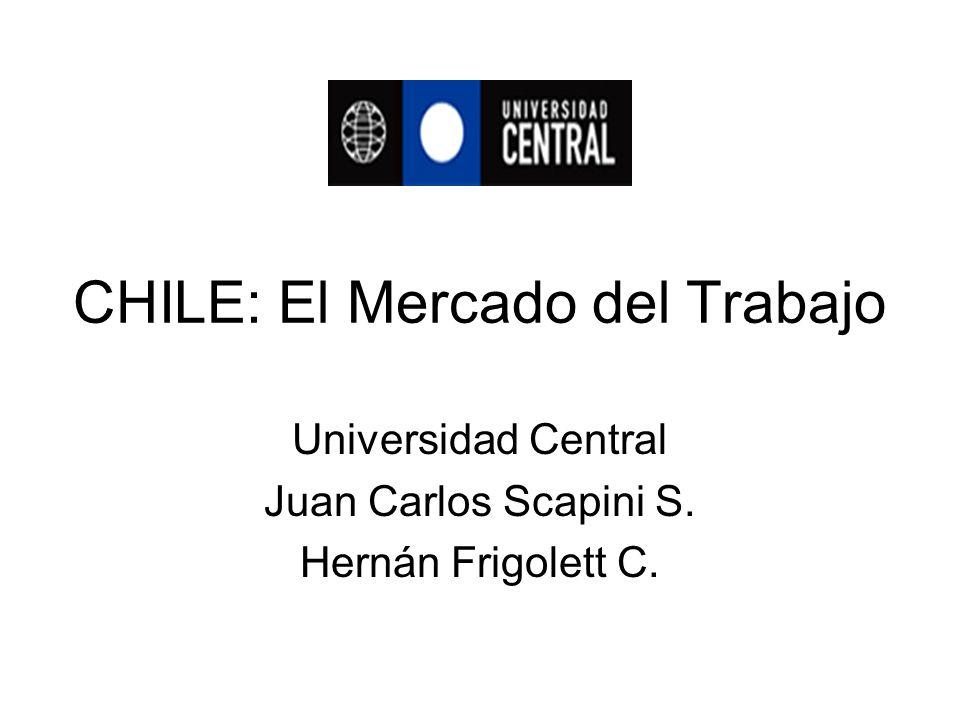 CHILE: El Mercado del Trabajo