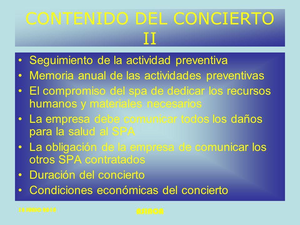 CONTENIDO DEL CONCIERTO II