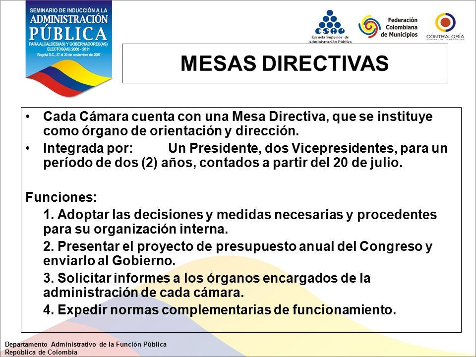 Estructura del estado colombiano ppt descargar for Mesa funcion publica