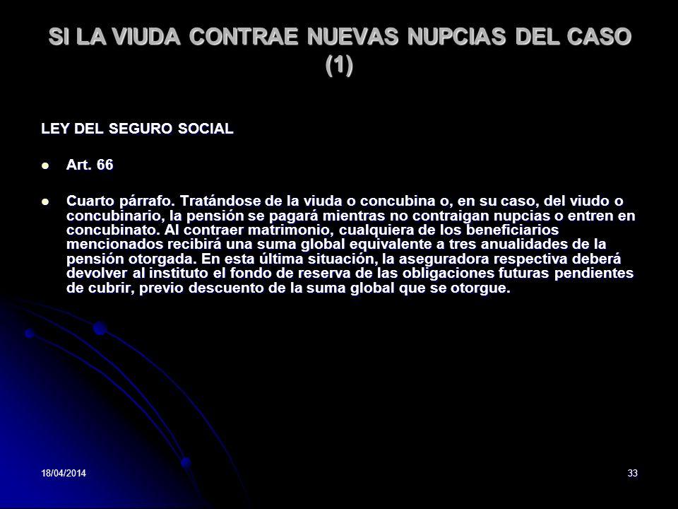 SI LA VIUDA CONTRAE NUEVAS NUPCIAS DEL CASO (1)