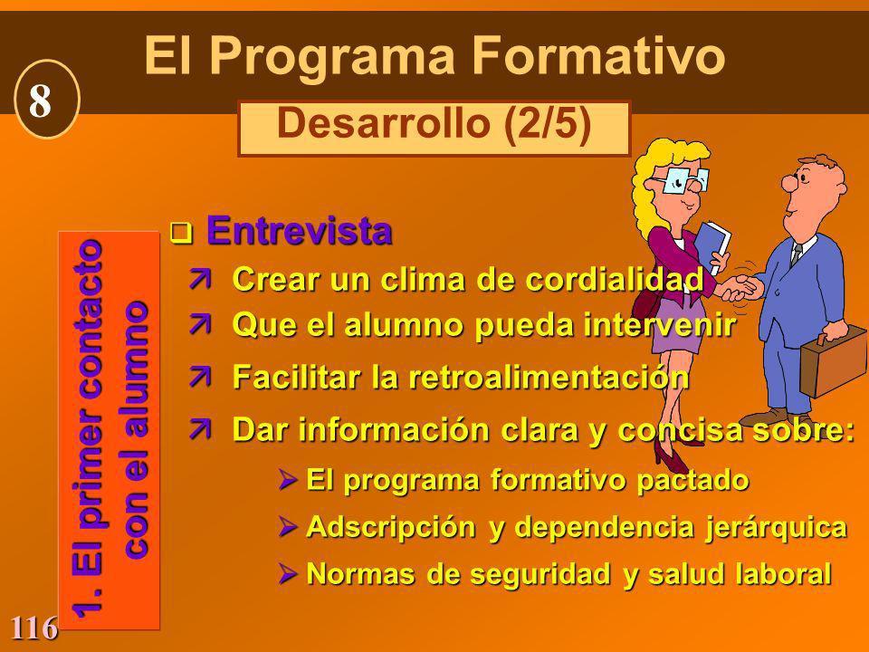El Programa Formativo 8 Desarrollo (2/5) Entrevista