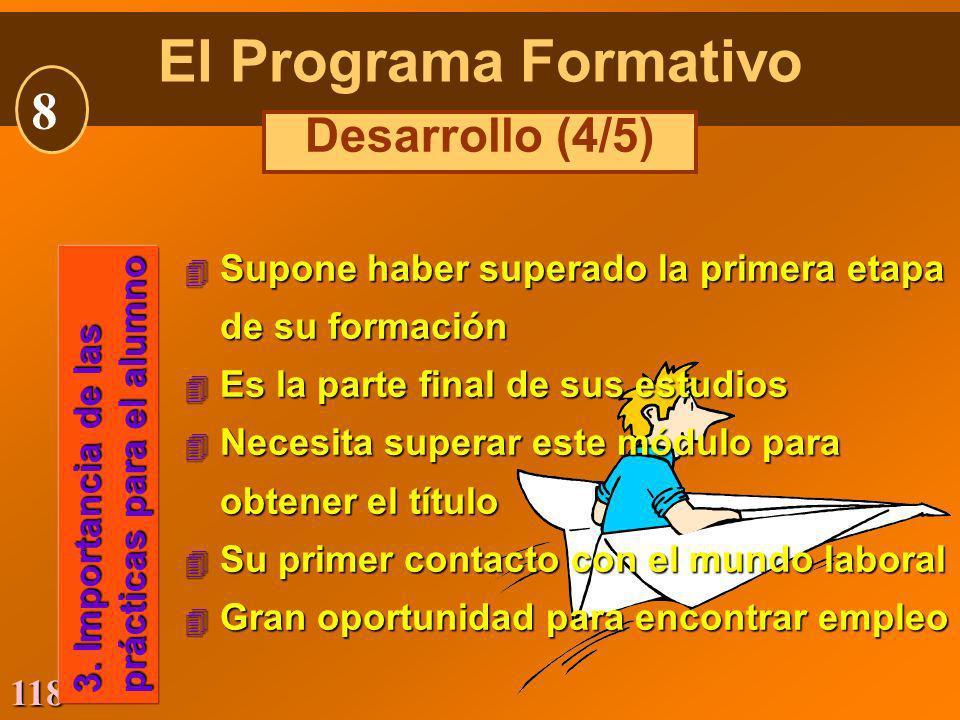 El Programa Formativo 8 Desarrollo (4/5)