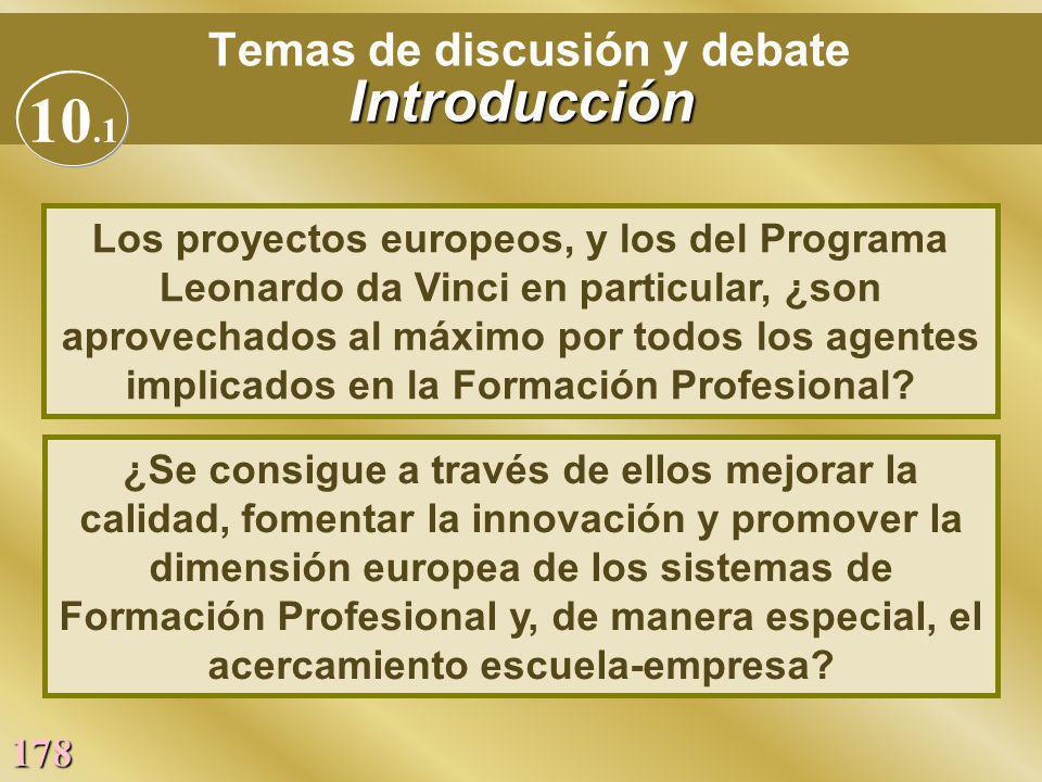 Temas de discusión y debate Introducción