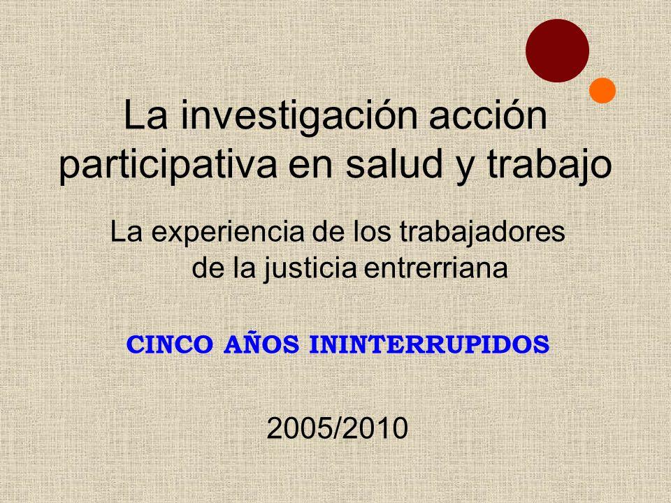 CINCO AÑOS ININTERRUPIDOS