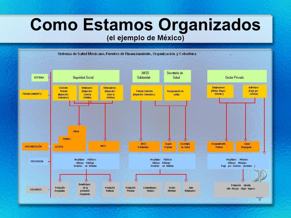 Como Estamos Organizados (el ejemplo de México)