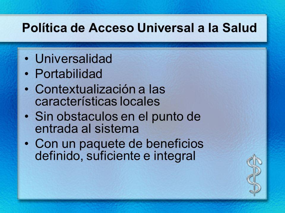 Política de Acceso Universal a la Salud