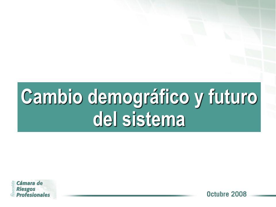 Cambio demográfico y futuro del sistema