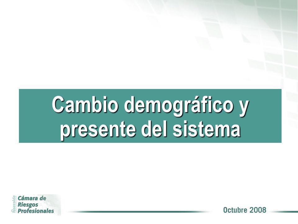 Cambio demográfico y presente del sistema