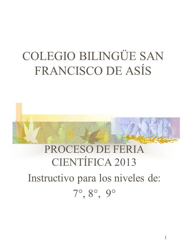 COLEGIO BILINGÜE SAN FRANCISCO DE ASÍS