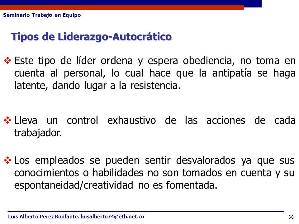 Tipos de Liderazgo-Autocrático