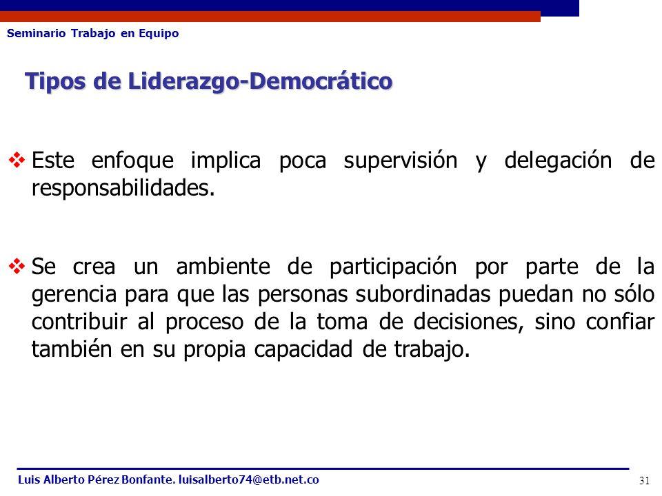Tipos de Liderazgo-Democrático
